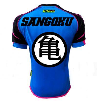 Maillot Football Thailande sangoku bleu