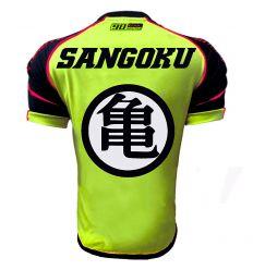 Maillot Football Thailande sangoku jaune