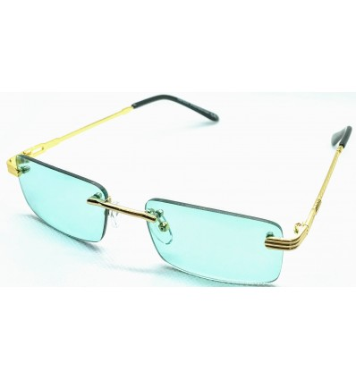 Lunette de Soleil ZOOM FLIGHT de Cartier teinter vert, rose